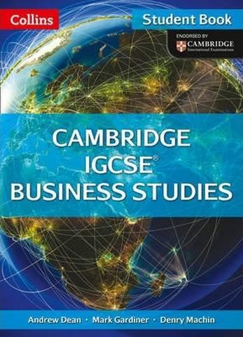 Cambridge IGCSE (TM) Business Studies Student's Book (Collins Cambridge IGCSE (TM)) - Andrew Dean