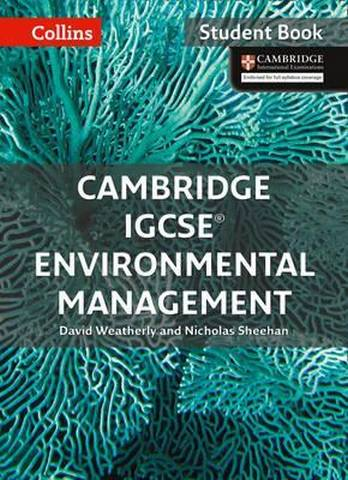 Cambridge IGCSE (TM) Environmental Management Student's Book (Collins Cambridge IGCSE (TM)) - David Weatherly