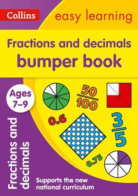 Fractions & Decimals Bumper Book Ages 7-9 (Collins Easy Learning KS2) - Collins Easy Learning