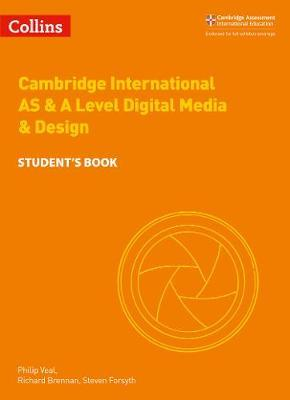 Collins Cambridge AS & A Level - Cambridge International AS & A Level Digital Media and Design Student's Book -