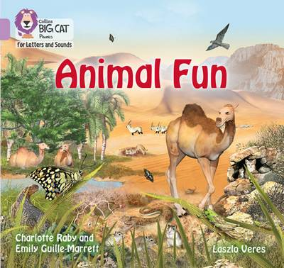 Collins Big Cat Phonics for Letters and Sounds - Animal Fun: Band 0/Lilac - Emily Guille-Marrett