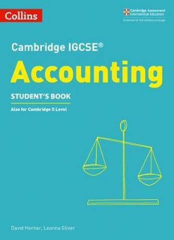 Cambridge IGCSE (TM) Accounting Student's's Book (Collins Cambridge IGCSE (TM)) - David Horner