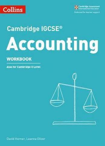 Cambridge IGCSE (TM) Accounting Workbook (Collins Cambridge IGCSE (TM)) - David Horner