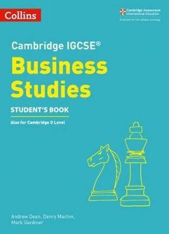 Cambridge IGCSE (TM) Business Studies Student's Book (Collins Cambridge IGCSE (TM)) -