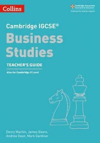 Cambridge IGCSE (TM) Business Studies Teacher's Guide (Collins Cambridge IGCSE (TM)) -