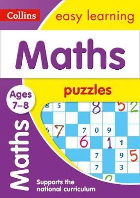 Maths Puzzles Ages 7-8 (Collins Easy Learning KS2) - Collins Easy Learning