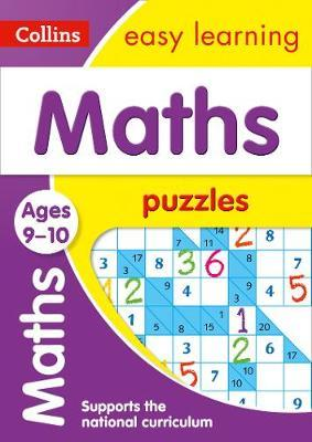 Maths Puzzles Ages 9-10 (Collins Easy Learning KS2) - Collins Easy Learning