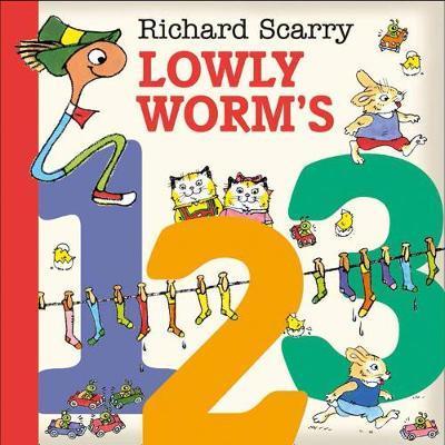 Lowly Worm's 123 - Richard Scarry