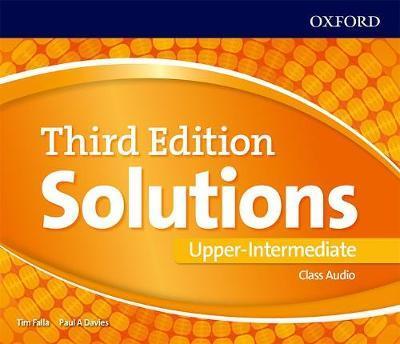 Solutions: Upper-Intermediate: Class Audio CDs - Paul Davies