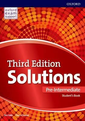 Solutions: Pre-Intermediate: Student's Book: Leading the way to success - Paul Davies