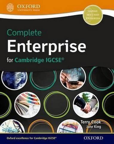 Complete Enterprise for Cambridge IGCSE (R) - Terry L. Cook