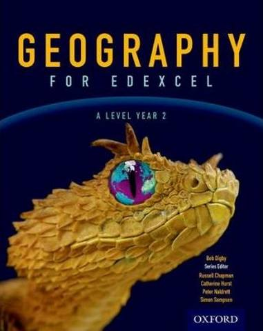 Geography for Edexcel A Level Year 2 Student Book - Bob Digby