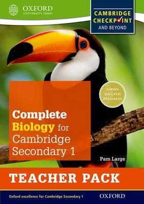 Complete Biology for Cambridge Lower Secondary Teacher Pack: For Cambridge Checkpoint and beyond - Pam Large