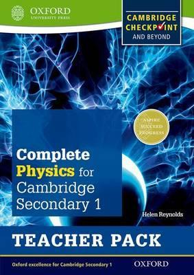 Complete Physics for Cambridge Lower Secondary Teacher Pack: For Cambridge Checkpoint and beyond - Helen Reynolds