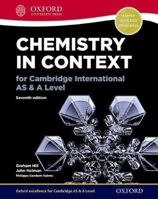 Chemistry in Context for Cambridge International AS & A Level - Philippa Gardom-Hulme
