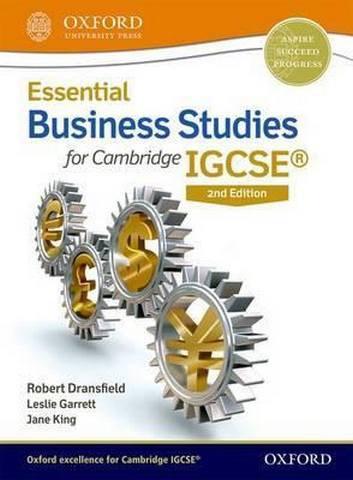 Essential Business Studies for Cambridge IGCSE (R) Student Book - Robert Dransfield
