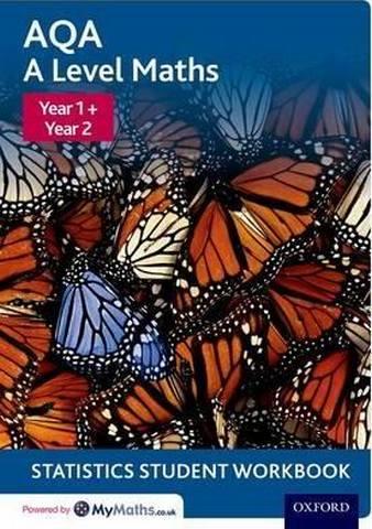 AQA A Level Maths: Year 1 + Year 2 Statistics Student Workbook (Pack of 10) - David Baker
