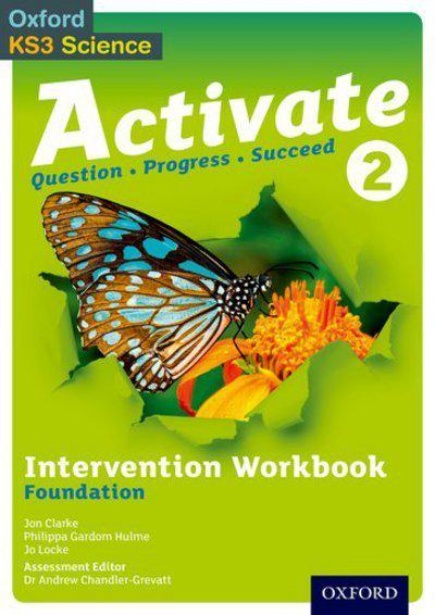 Activate 2 Intervention Workbook (Foundation) - Jon Clarke