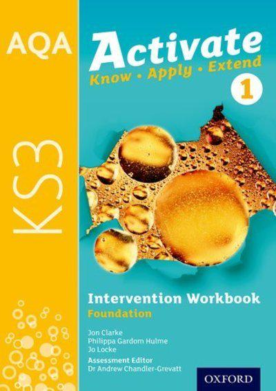 AQA Activate for KS3: Intervention Workbook 1 (Foundation) - Jon Clarke