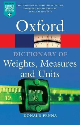 A Dictionary of Weights