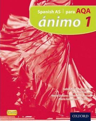 Animo: 1: Para AQA Student Book - De Sudea