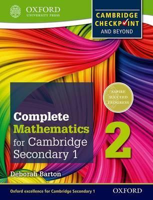 Complete Mathematics for Cambridge Lower Secondary 2: Cambridge Checkpoint and beyond - Deborah Barton