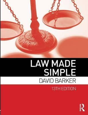 Law Made Simple - David Barker
