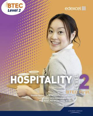BTEC Level 2 First Hospitality Student Book - Tracey Mead