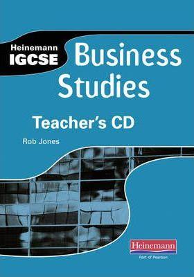 Heinemann IGCSE Business Studies Teacher's CD - Rob Jones