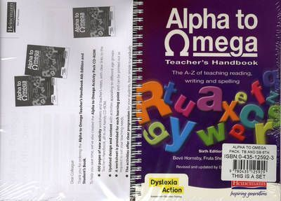 Alpha to Omega Pack: Teacher's Handbook and Student's Book 6th Edition - Beve Hornsby