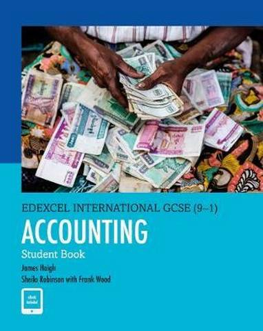 Edexcel International GCSE (9-1) Accounting SB - James Haigh