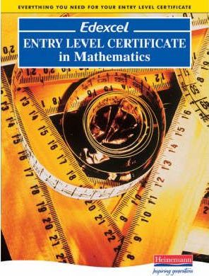 Edexcel Entry Level Certificate in Maths Pupil Book - Sue Bright