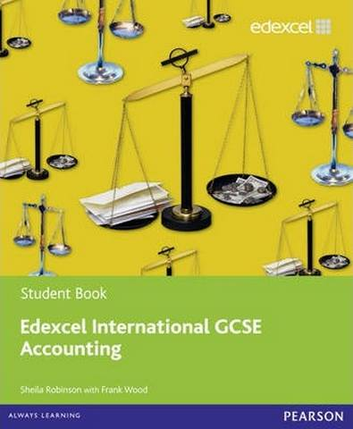Edexcel International GCSE Accounting Student Book with ActiveBook CD - Sheila Robinson