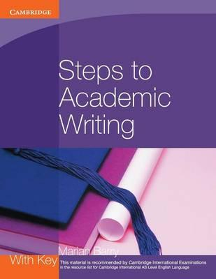 Georgian Press: Steps to Academic Writing - Marian Barry