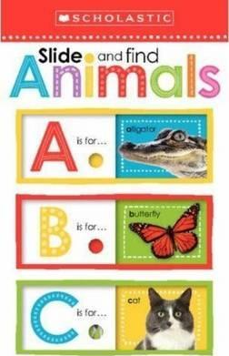 Slide and Find Animals                            ABC - Scholastic