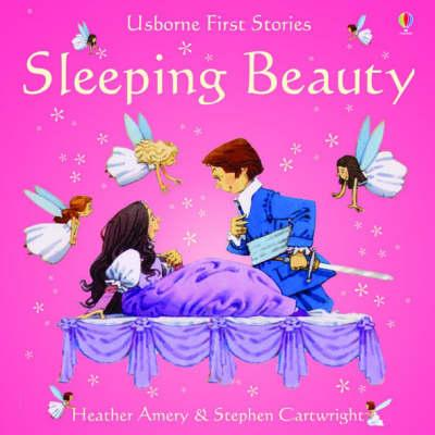 Usborne Fairytale Sticker Stories Sleeping Beauty - Heather Amery