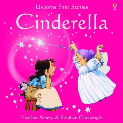 Usborne Fairytale Sticker Stories Cinderella - Heather Amery