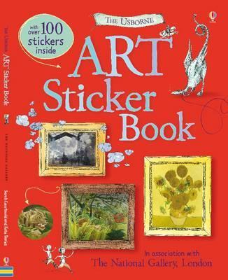 Art Sticker Book - Sarah Courtauld