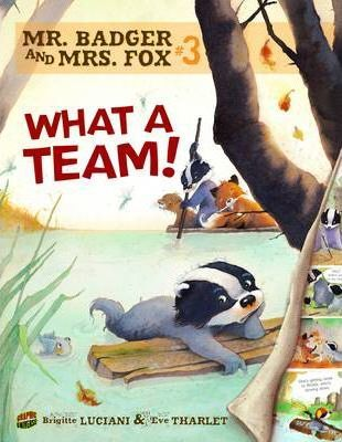 Mr Badger and Mrs Fox Book 3: What A Team - Brigitte Luciani