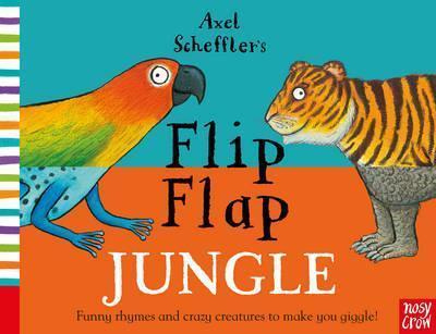 Axel Scheffler's Flip Flap Jungle - Nosy Crow