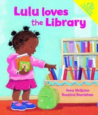 Lulu Loves the Library - Anna McQuinn