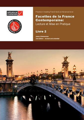 Facettes de la France contemporaine Level 2 Practice Book: Lecture et Mise en Pratique - Jenny Ollerenshaw