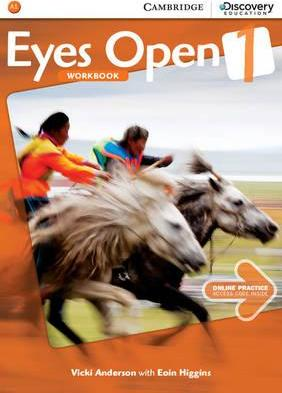 Eyes Open: Eyes Open Level 1 Workbook with Online Practice - Vicki Anderson