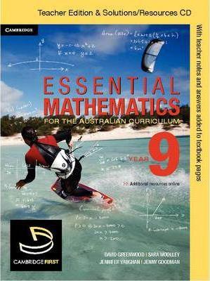 Essential Mathematics: Essential Mathematics for the Australian Curriculum Year 9 Teacher Edition - Michael Cujes