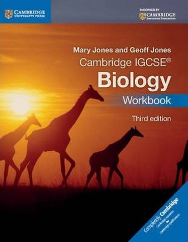 Cambridge International IGCSE: Cambridge IGCSE (R) Biology Workbook - Mary Jones
