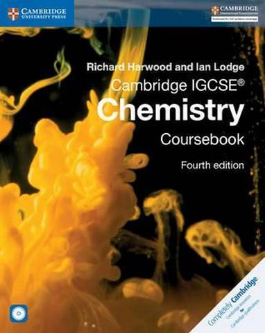 Cambridge International IGCSE: Cambridge IGCSE (R) Chemistry Coursebook with CD-ROM - Richard Harwood