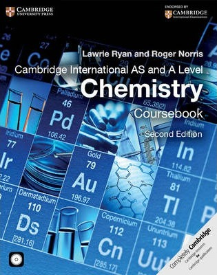 Cambridge International AS and A Level Chemistry Coursebook with CD-ROM - Lawrie Ryan