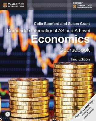 Cambridge International AS and A Level Economics Coursebook with CD-ROM - Colin Bamford