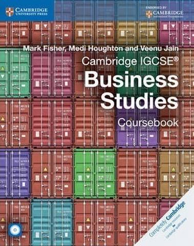 Cambridge International IGCSE: Cambridge IGCSE (R) Business Studies Coursebook with CD-ROM - Mark Fisher