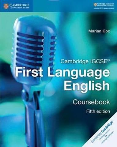 Cambridge International IGCSE: Cambridge IGCSE (R) First Language English Coursebook - Marian Cox